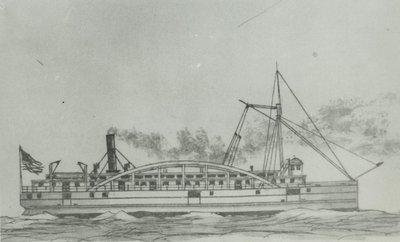 WESTMORELAND (1853, Steamer)