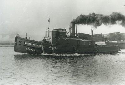 EFFIE L. (1875, Tug (Towboat))