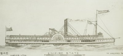 EMPIRE STATE (1848, Steamer)