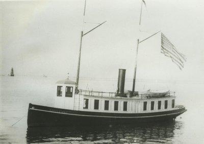LITTLE MAC (1886, Yacht)
