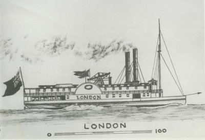 LONDON (1845, Steamer)