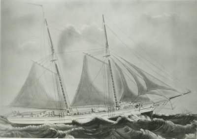 LYONS, KATE (1866, Schooner)
