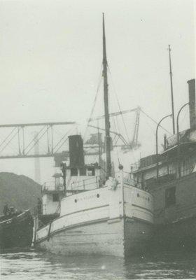 STUART, M.H. (1921, Steambarge)