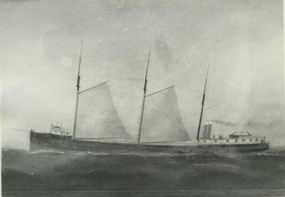 EGYPTIAN (1873, Bulk Freighter)