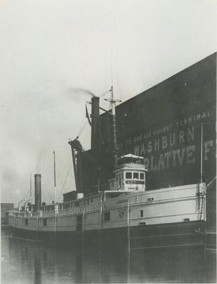 LEHIGH (1880, Package Freighter)