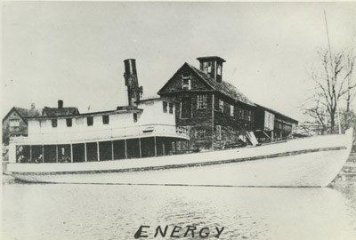 ENERGY (1883, Steambarge)