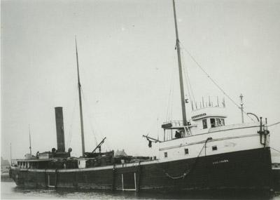ESCANABA (1881, Bulk Freighter)