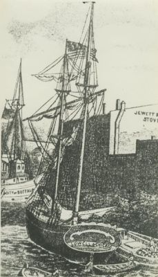 LOWELL (1848, Brigantine)