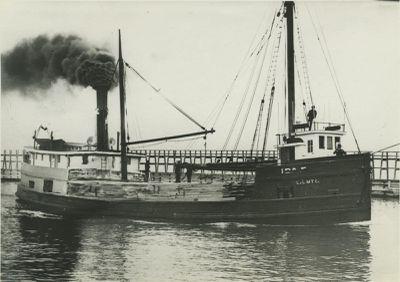 IDA E. (1887, Steambarge)