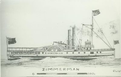 ZIMMERMAN (1854, Steamer)