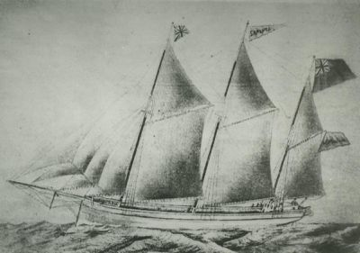 EVERETT, MARY (1867, Scow Schooner)