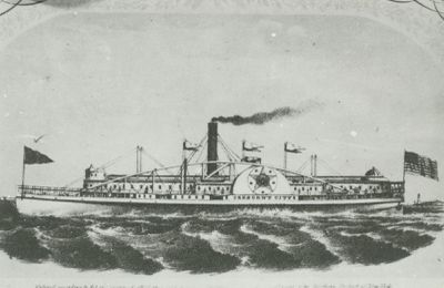 CRESCENT CITY (1853, Steamer)