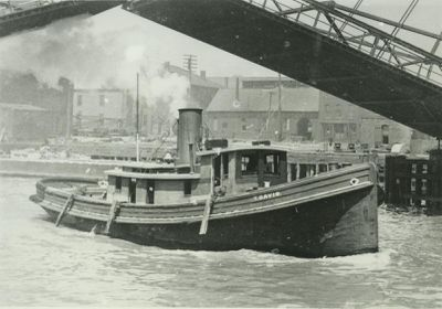 DAVIS, TOWNSEND (1890, Tug (Towboat))