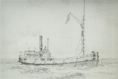YOSEMITE (1867, Steambarge)