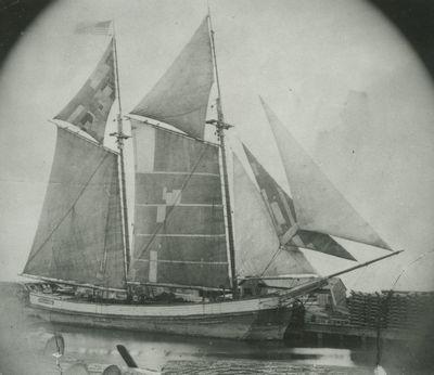 MAGDALENA (1865, Scow Schooner)
