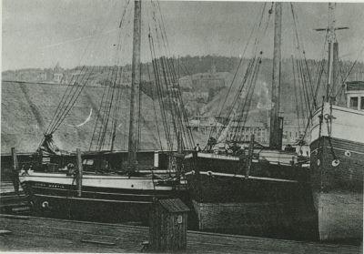 JOHN MARTIN (1873, Schooner-barge)