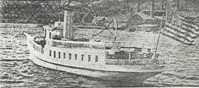 MORGAN (1891, Yacht)