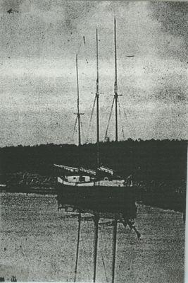 AHNAPEE (1867, Scow Schooner)