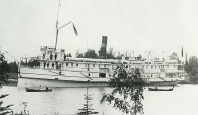 CHAMPION (1877, Tug (Towboat))