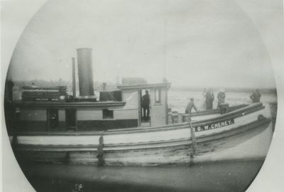 CHENEY, O. W. (1881, Tug (Towboat))