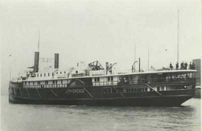 CITY OF CHICAGO (1890, Steamer)