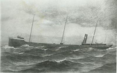 GILCHER, W.H. (1891, Bulk Freighter)