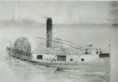 FORESTER (1854, Steamer)