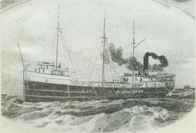 LANGELL, SIMON (1886, Steambarge)