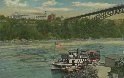 MAID OF THE MIST (1892, Excursion Vessel)