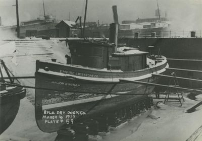 MAJOR KINGMAN (1901, Tug (Towboat))