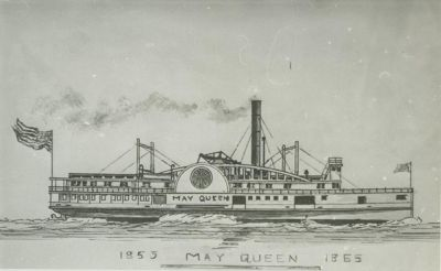 MAY QUEEN (1853, Steamer)