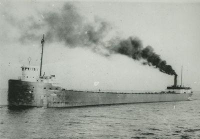 AMES, WARD (1907, Bulk Freighter)
