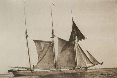CALKINS, BERTIE (1874, Schooner)