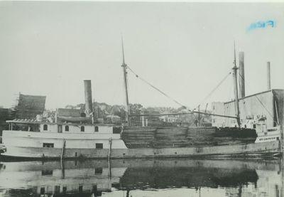 MARKHAM, GEORGE C. (1883, Steambarge)