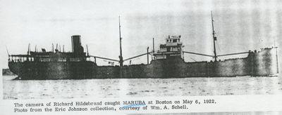 MARUBA (1890, Bulk Freighter)