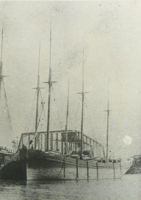 MAUTENEE (1873, Schooner-barge)