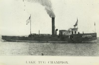 CHAMPION (1868, Tug (Towboat))