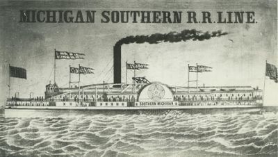 SOUTHERN MICHIGAN (1852, Steamer)