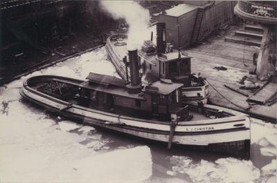 CHRISTIAN, SAMUEL J. (1868, Tug (Towboat))
