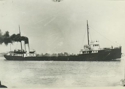 GERMAN (1890, Bulk Freighter)