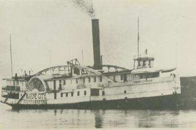 MARINE CITY (1866, Barge)