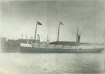 CHENANGO (1887, Bulk Freighter)
