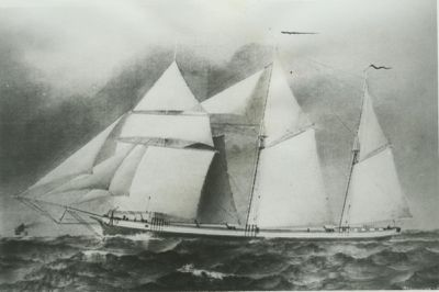 GEORGER, F.A. (1874, Schooner)