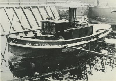 MAJOR SYMONS (1900, Tug (Towboat))