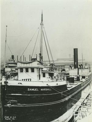 MARSHALL, SAMUEL (1888, Steambarge)
