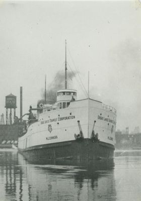 MAUCH CHUCK (1901, Package Freighter)