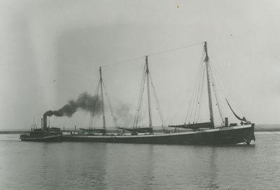 ABYSSINIA (1896, Schooner-barge)