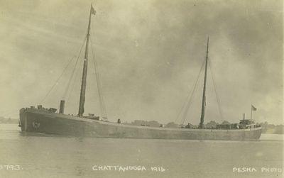 CHATTANOOGA (1898, Schooner-barge)