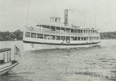 CITY OF BUFFALO (c1880, Steamer)