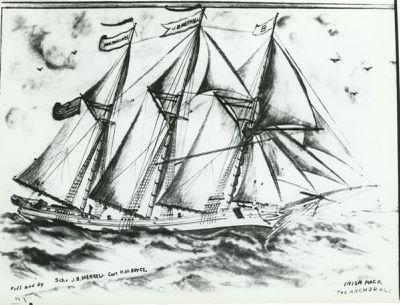MERRILL, JOHN B. (1873, Schooner)